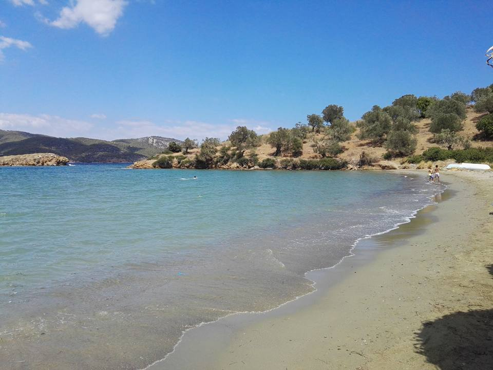 "Best beaches on Poros and vicinity - Aliki & ""Hidden beach"""