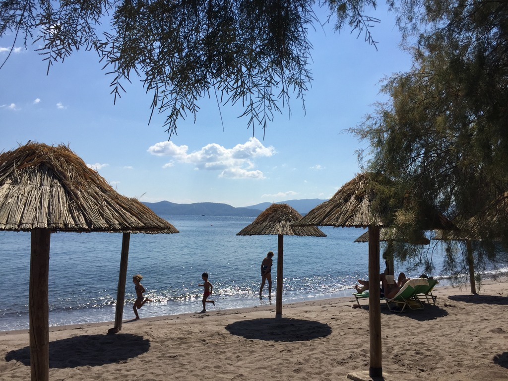 Best beaches on Poros and vicinity - Methana