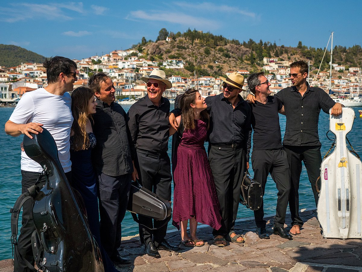 Saronic Chamber Music Festival musicians in Galatas, Poros