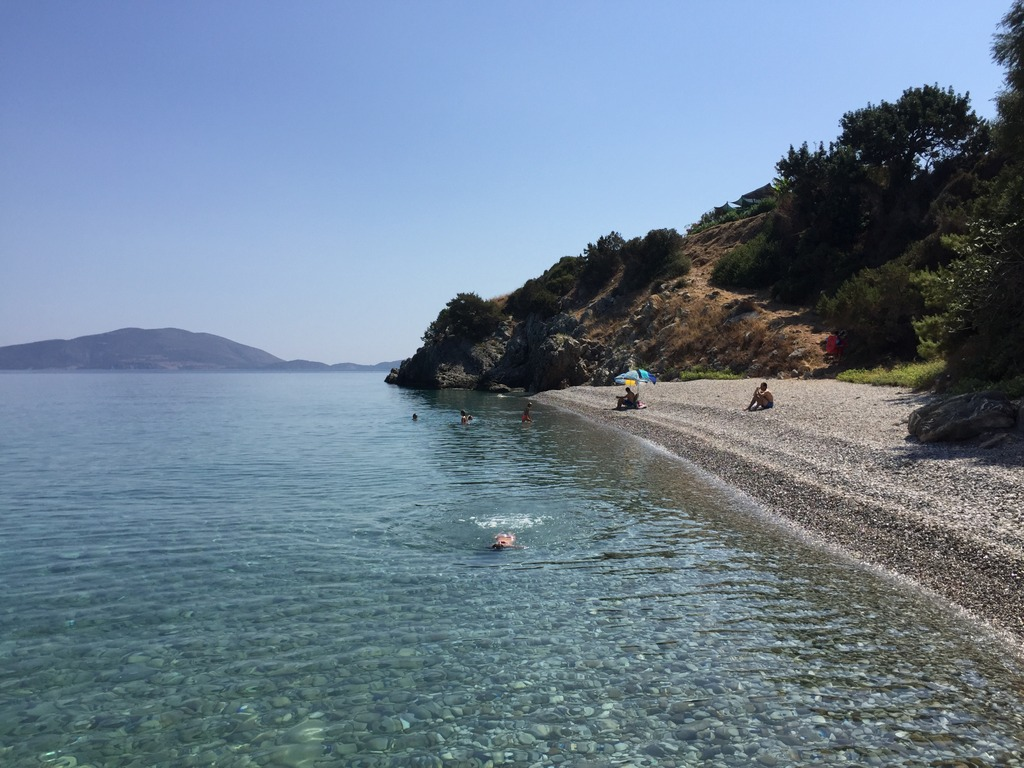 Best beaches on Poros and vicinity - Votsalakia Kalloni