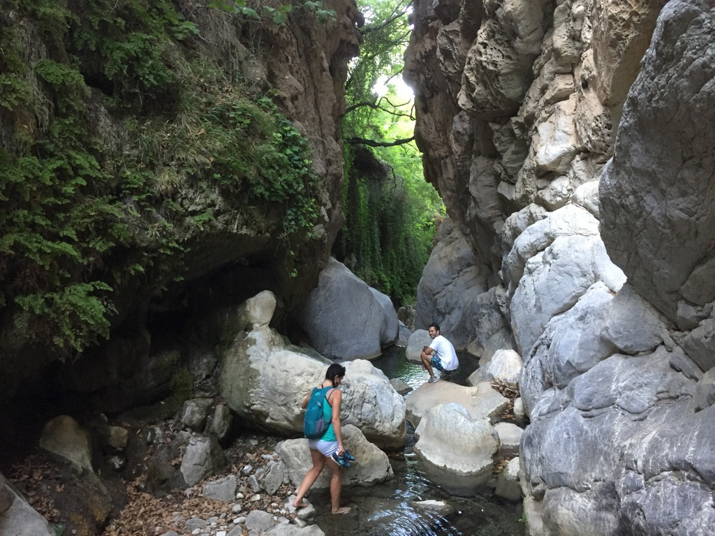 Devil's Bridge hike in Troizina