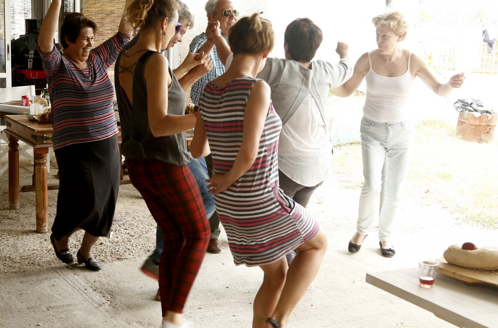 Greek Easter is not the same without traditional Greek dancing!