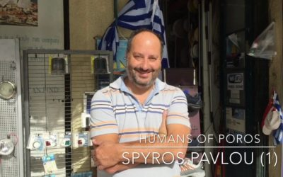 Humans of Poros – Spyros Pavlou (1)