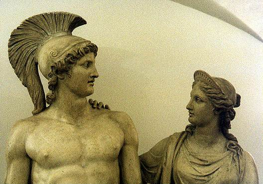 Theseus and Ariadne of Crete