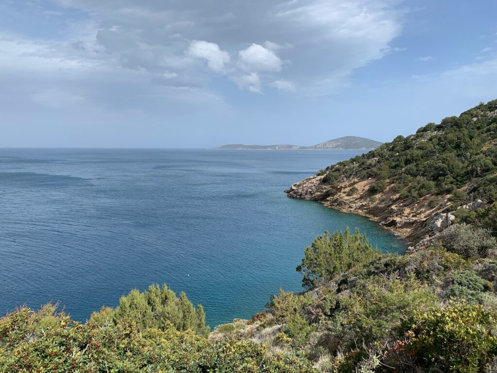 View from the Poros lighthouse