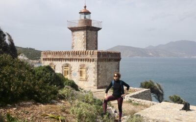 Hike to Poros island lighthouse (for after the lockdown)